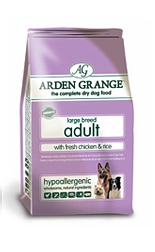 8 Arden Grange Adult Large Breed With Fresh Chicken & Rice  2Kg