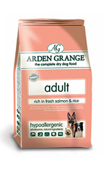 9 Arden Grange Adult Dog Rich in Fresh Salmon & Rice 12Kg