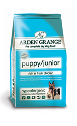 AAA1 Arden Grange Puppy/Junior: Rich in Fresh Chicken 12Kg